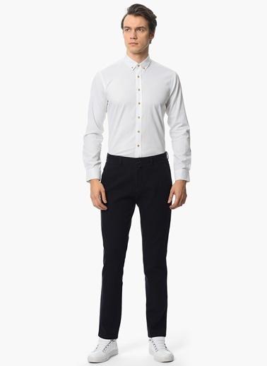NetWork Uzun Kollu Slim Fit Gömlek Beyaz